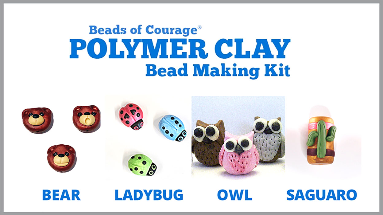 TUCSON ONLY - Polymer Clay Bead Making Kits