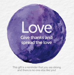 Bead Strong: Love-Give thanks and spread the love