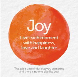 Bead Strong: Joy-Live each moment with love and laughter