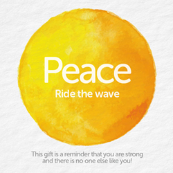 Bead Strong: Peace-Ride the wave