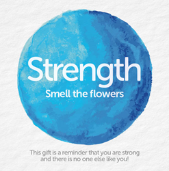 Bead Strong:  Strength-Smell the flowers