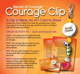 Courage Clip Group Activity Kit for 10 Participants