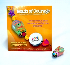 February 2019 Bead of the Month - The Love Bug