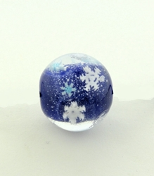 January 2021 Bead of the Month - The Snowflake Bead reminds you that you are one of a kind!
