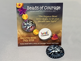 July 2019 Bead of the Month - The Pegasus Bead
