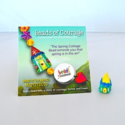 March 2019 Bead of the Month - The Spring Cottage