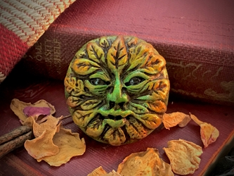 October 2019 Bead of the Month - The Green Man Bead