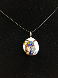 Sassy Bird Bead Pendant - Artist Exclusive 001