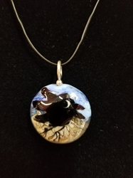 Sassy Bird Bead Pendant-Artist Exclusive 013