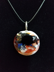 Sassy Bird Bead Pendant-Artist Exclusive 018