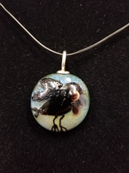 Sassy Bird Bead Pendant-Artist Exclusive 042