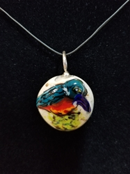 Sassy Bird Bead Pendant-Artist Exclusive 043