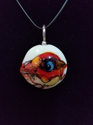 Sassy Bird Bead Pendant-Artist Exclusive 044