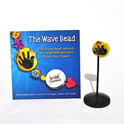 Wave Bead - Buy 1, Give 1! -Artist Exclusive by Audra Delashmutt