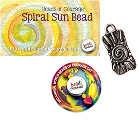 World Beads of Courage Day Bead 2020