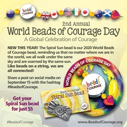 World Beads of Courage Bead 2020