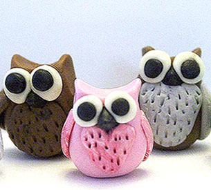 Owl - Polymer Clay Bead Making Kit - TUCSON ONLY