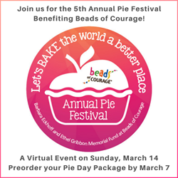 "2021 Pie Festival Package - ""Lets Bake the World a Better Place"""