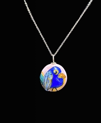 Sassy Bird Bead Pendant - Artist Exclusive 051